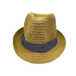 Unisex Straw Tan Hat